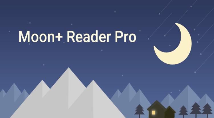 تحميل تطبيق Moon+ Reader Pro